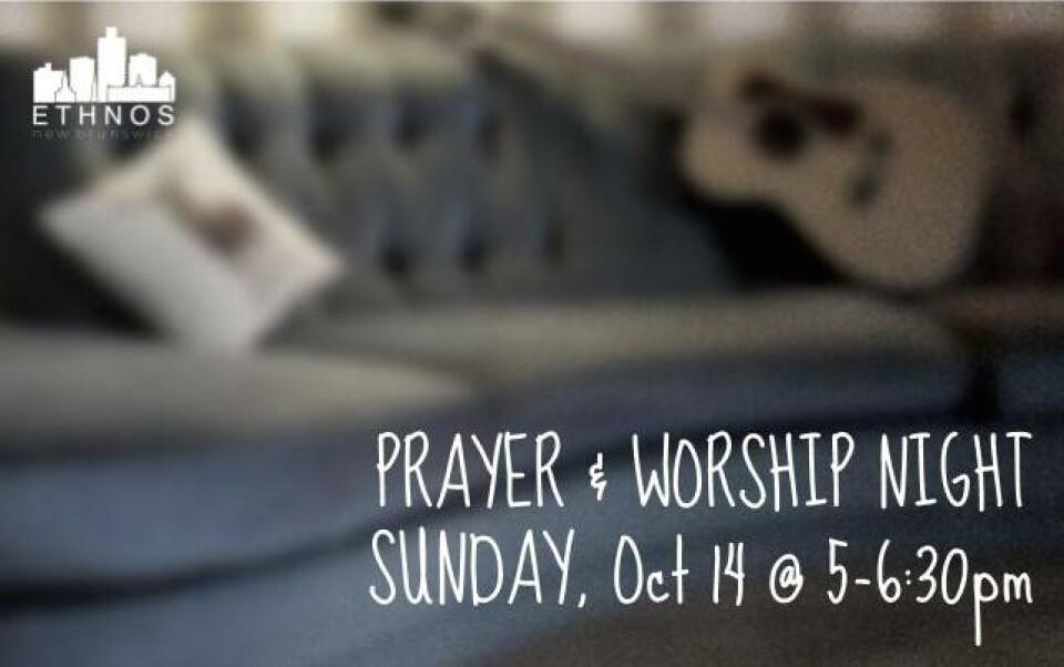 Prayer & Worship Night, October 2018