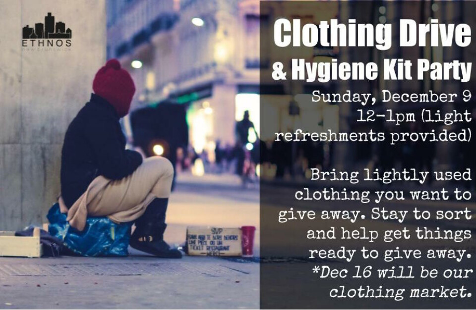 Winter Clothing and Hygiene Kits