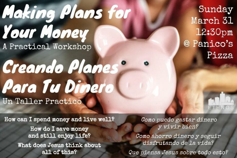 Making Plans for Your Money